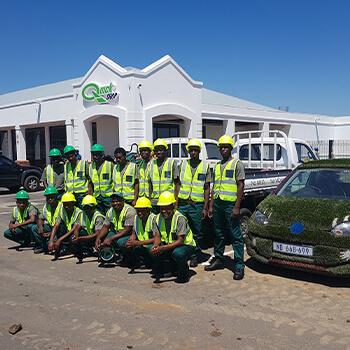Artificial Grass Umhlanga Installation Team