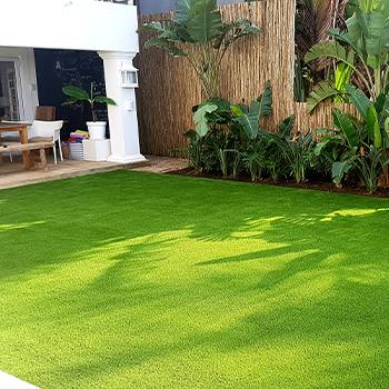 Artificial Grass Garden Seating Area Easigrass Umhlanga